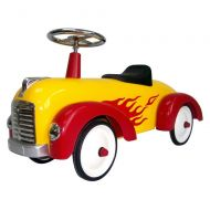 PedalCar  Toddler Hot Dog Speedster Yellow Red Flames Foot to Floor Ride On
