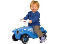 Big Bobby Car Classic Dolphin Blue Foot to Floor Ride on Car