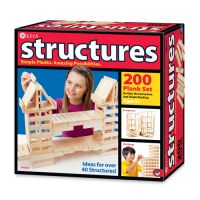 KEVA 200 Pine Plank Structures Construction Set