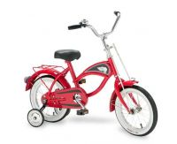 14 Morgan Cruiser Bike Red with Training Wheels