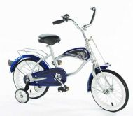 14 Morgan Cruiser Bike Blue with Training Wheels