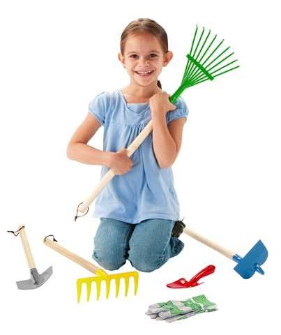 Childrens Junior Garden Tool Set