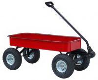 Morgan Cycle Red Bella Junior Metal Wagon
