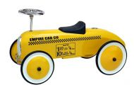 Yellow Taxi Foot to Floor Retro Racer by Morgan Cycle