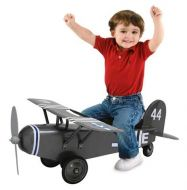 Morgan Cycle Army 44 Airplane Ride-On Scoot Foot to Floor