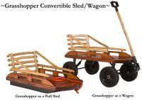 Mountain Boy Sledworks Grasshopper Convertible Wagon/Sled